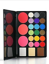 24 Eyeshadow Palette Dry Eyeshadow palette Pressed powder Daily Makeup