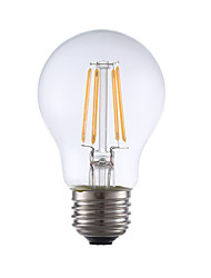 3.5 E26 Lâmpadas de Filamento de LED A17 4 COB 350 lm Branco Quente Regulável AC 110-130 V 1 pç