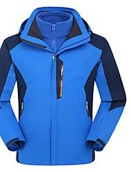 Herrn Windjacken Softshell Jacken Oberteile Camping & Wandern Alpin Ski Teamsport Wasserdicht Atmungsaktiv Windundurchlässig Anti-Insekten