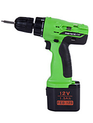 Two Batteries A Charger 12V Rechargeable Drill