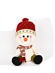 Christmas Party Supplies Snowman Textile