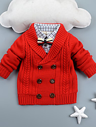 Boy Party/Cocktail / School Solid Sweater & Cardigan,Cotton Winter / Fall Long Sleeve Short