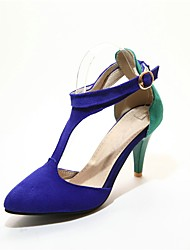 Women's Heels Spring Summer Fall Others Fleece Office & Career Casual Party & Evening Dress Stiletto Heel Buckle Hollow-out Split Joint