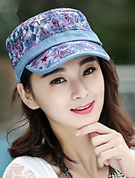 Spring And Summer National  Five - Pointed Star  Navy Cap Peak Caps