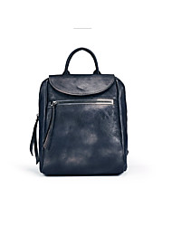 Unisex Cowhide Casual / Outdoor / Office & Career / Shopping Carry-on Bag Gray