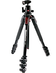Manfrotto Tripod  Mk190Xpro4 - Bhcn With Chinese Red Aluminum Tripod Bearing (6 Kg) Axis /Folder Suits