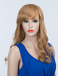 Attractive Long Capless Wigs Natural Wavy Human Hair