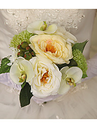 "Wedding Flowers Round Roses Bouquets Dried Flower 5.12""(Approx.13cm)"