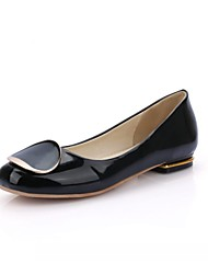 Women's Heels Spring Summer Fall Comfort Novelty Patent Leather Leatherette Wedding Office & Career Party & Evening Dress Casual Flat Heel