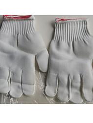 Pack de dix vendre blancs gants en nylon / gants de travail de protection