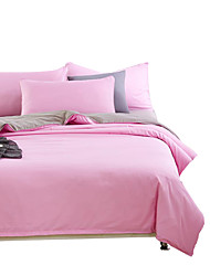 Mingjie Wonderful Pink and Grey Bedding Sets 4PCS for Twin Full Queen King Size from China Contian 1 Duvet Cover 1 Flatsheet 2 Pillowcases