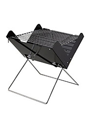 1PC Simple Portable Outdoor Barbecue Grill Type X Folding Barbecue Barbecue Tools