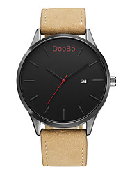 DOOBO Fashion Casual Mens Watches Top Brand Luxury Leather Business Quartz-Watch Men Wristwatch Relogio Masculino