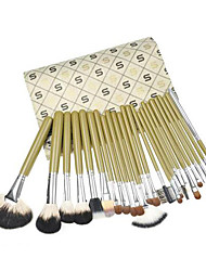 24Contour Brush / Makeup Brushes Set / Blush Brush / Eyeshadow Brush / Lip Brush / Brow Brush / Eyeliner Brush / Liquid Eyeliner Brush /