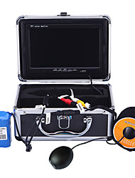 HD 1000TVL Underwater Fishing Camera Video Camera DVR Record Ice Fish Finder 7'' Digital LCD Screen 15M Cable