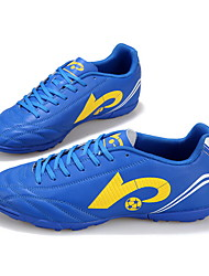 Soccer Shoes Kid's Anti-Slip Anti-Shake/Damping Breathable Wearproof Outdoor Low-Top PU Soccer/Football