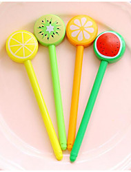 frutas lollipop caneta gel (12pcs)