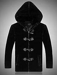 Fall Winter Coat Long Sleeve Faux Fur