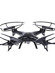 Drone HUANQI 898C 4CH 6 Axis With CameraLED Lighting One Key To Auto-Return Auto-Takeoff Headless Mode 360°Rolling Access Real-Time