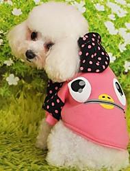 Keep Warm Lovely Cartoon Patterns Pet Coat