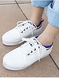 Women's Sneakers Comfort Fabric Casual White
