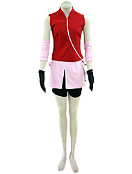 Naruto Anime Cosplay Costumes  Coat/Skirt /Shorts/Sleeves/Gloves kid