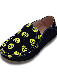 Boy's Casual Spring / Fall / Winter Fashion Slip-on Suede Outdoor / Casual Flat Heel Loafers Multi Color