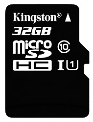 Original Kingston 32GB microSDHC Class 10 SDHC-Speicherkarte UHS-1