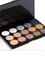15 Eyeshadow Palette Dry Eyeshadow palette Pressed powder Daily Makeup