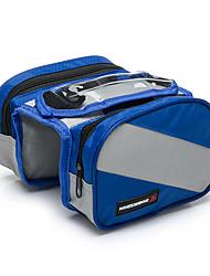 bolso de la biciBolsa para Cuadro de Bici Impermeable / Banda reflectante / Pantalla táctil / Transpirable / Móvil/Iphone / Multifuncional