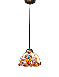 20cm Retro Tiffany Pendant Lights Glass Shade Living Room Bedroom Dining Room Kids Room light Fixture