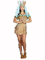 Court Costume Festival/Holiday Costumes Dress / Choker / Hat Female Polyester