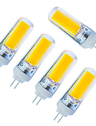 3W LED Doppel-Pin Leuchten 1 COB 240lm lm Warmes Weiß / Kühles Weiß Dimmbar AC220 V 5 Stück