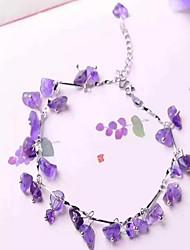 Anklet/Bracelet Shape Feature Material Material Shown Color Women's Jewelry Quantity