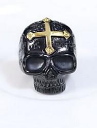 Ring Non Stone Halloween Jewelry Titanium Steel Women / Men / Couples Couple Rings / Ring 1pc,One Size Black
