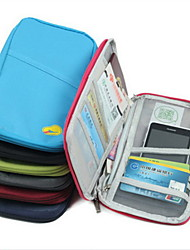 Travel Passport Holder & ID Holder Waterproof / Dust Proof / Portable Travel Storage Polyester