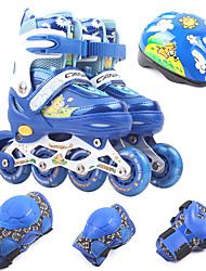 Inline Skates Kid's Anti-Slip Cushioning Adjustable Outdoor Rubber Rubber TPR Ice Skating Skiiing Skate