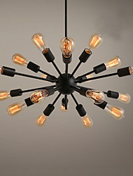 Lámparas Araña ,  Tradicional/Clásico Pintura Característica for Los diseñadores MetalSala de estar Dormitorio Habitación de