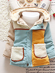 Hot sale Boy Casual/Daily Color Block Down & Cotton PaddedCotton Winter Long Sleeve
