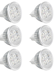 LED 12V DC/AC 4W MR16 Led Spot Light Lamp Cup for Dining Room/Display Hall/Indoor Warm/Cool White (6 Pieces)