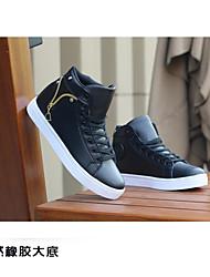 HombreConfort-Zapatillas de deporte-Casual-PU-Negro / Blanco