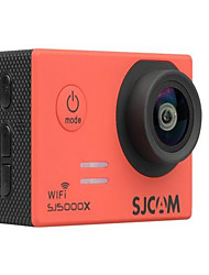 SJ5000X Cámara acción / Cámara deporte 16MP 4000 x 3000 Wifi Ajustable Impermeable Wireless 30fps 4X ± 2 EV 2 CMOS 32 GB H.264Inglés