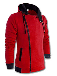 Sell Men'S Size Multi-Color Hoodie Coat Jacket Zipper Slim Fashion Student