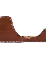 Черный / Кофейный / Коричневый-Кейс-С открытым плечом-Защита от пыли-SLR- дляCanon