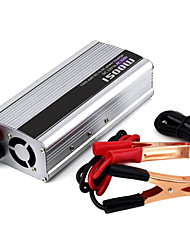 1500w DC 12V bis 220V AC Power Inverter - silber