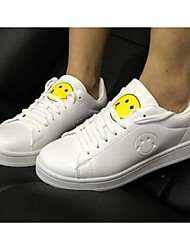 Women's Sneakers Comfort Leatherette Casual White