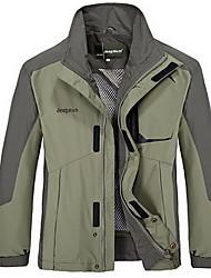 Hiking Tops Men's Waterproof / Thermal / Warm / Windproof / Insulated / Comfortable Spring / Fall/Autumn / Winter Terylene Yellow / Green