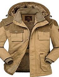 Wandern Oberteile Herrn Wasserdicht / warm halten / Komfortabel Winter Baumwolle Armeegrün / Hellkaki M / L / XL / XXL / XXXL / XXXXL