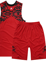 Homme Sans Manches Sport de détente Badminton Basket-ball Course/Running Ensemble de Vêtements Baggy Séchage rapide Respirable