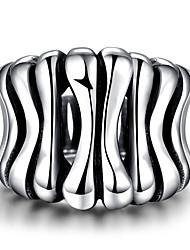 Ringe Ohne Stein Normal Schmuck Stahl Herren Ring 1 Stück,8 / 9 / 10 / 11 / 12 Silber